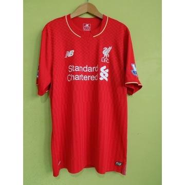Koszulka t-shirt liverpool fc new balance skrtel37