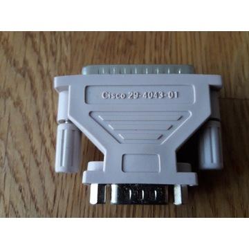 Adapter CISCO DB25 to DB9 - 29-4043-01 męski