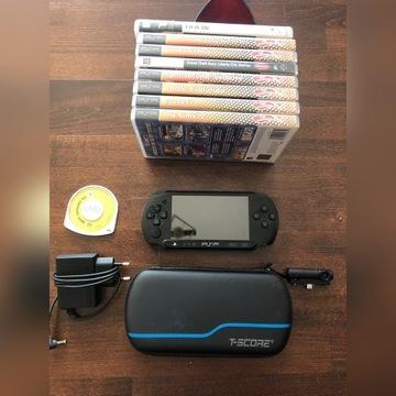 Sony PSP-E1004 street+  9 gier + kamerka