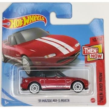 Hot Wheels 91 Mazda MX-5 Miata Treasure Hunt JDM