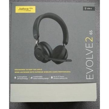 Słuchawki Evolve2 65 Jabra, nowe