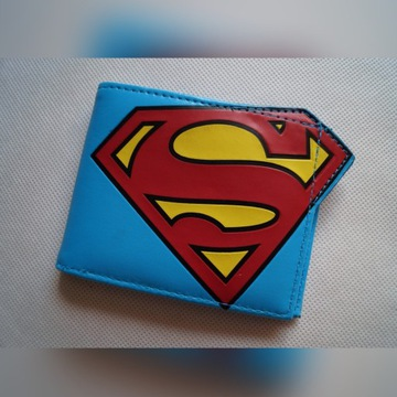 Portfel Superman DC Comics orginal Unikat