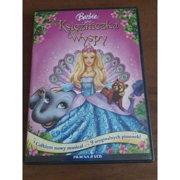 Barbie jako księżniczka wyspy 2 płyty VCD