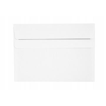 Koperty listowe C6 zwykłe białe 100 sztuk