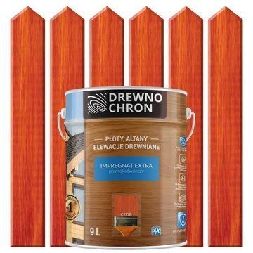 Impregnat Drewnochron powłokotwórczy kolory 9L