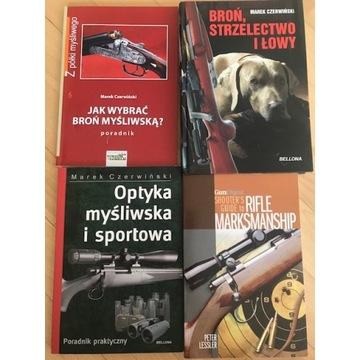 Strzelectwo Lowiectwo Bron Marek Czerwinski 5ksiaz