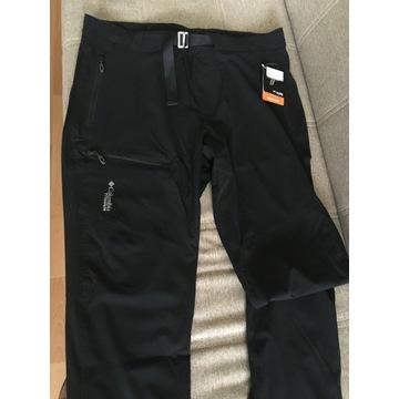 Spodnie Columbia Titan Pass Pant - black XL - 38