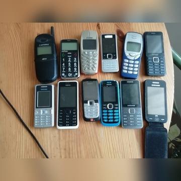 ZESTAW TELEFONÓW 12 SZT