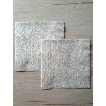 Serwetki papierowe ozdobne - komplet 2 sztuki
