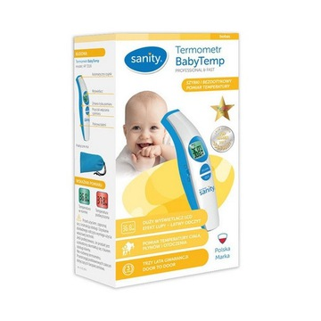 Termometr bezdotykowy Sanity BabyTemp podczerwień