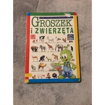 Groszek i zwierzęta zabawy, ćwiczenia, opowiadania