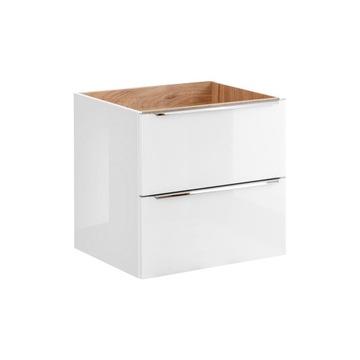 CAPRI WHITE 820 - Szafka pod umywalkę 60 2Szuflady