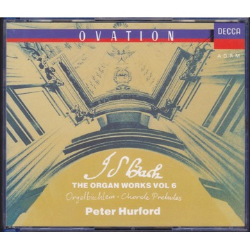 J.S.Bach / Organ Works vol. 6 / Peter Hurford 2CD