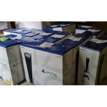 Konsola Playstation 5 PS5 napęd, od ręki.Faktura