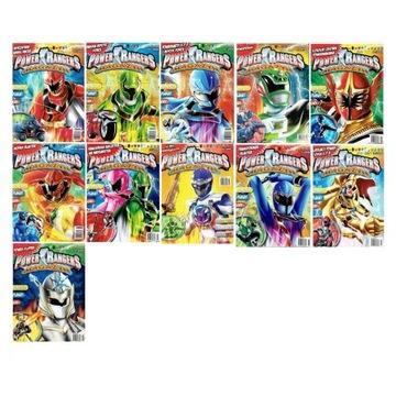 Power Rangers magazyn plakat, komiksy