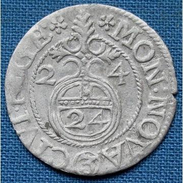 Gustaw Adolf, półtorak ryski 1624, ładny