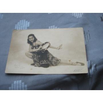 pocztówka CYGANECZKA Lwów 1931