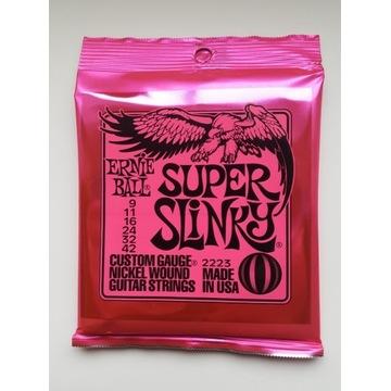 Struny Ernie Ball Super Slinky 9-42