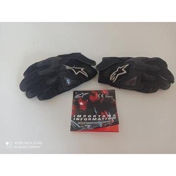 Rękawice motocyklowe szosowe Alpinestars krótkie
