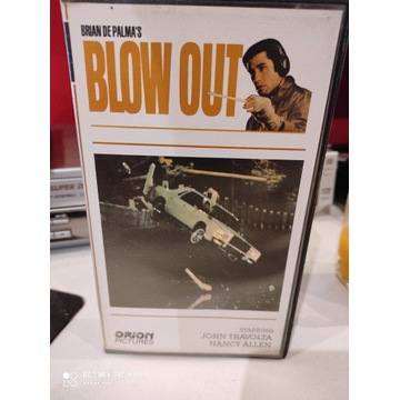 Blow out VHS unikat Rare Silesia Film Okazja