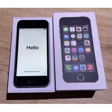 iPhone 5s 16GB - w pełni sprawny, nowa szybka