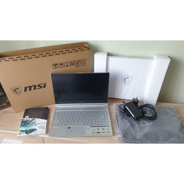 Laptop MSI Prestige PS42 i5 SSD M.2 IPS 14 ALU gra