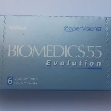 Soczewki miesięczne Biomedics  wybrane moce , plus
