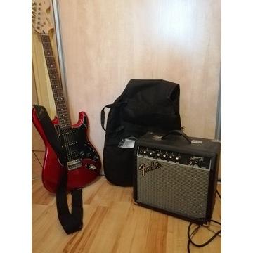 Zestaw Gitara Fender