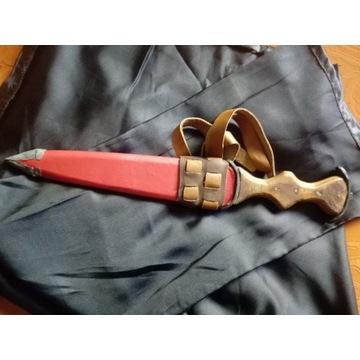Flamandzki sztylet rycerski Baselard, użytkowy