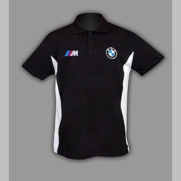 BMW M POWER KOSZULKA T-Shirt Polo Haft z EUR S-6XL