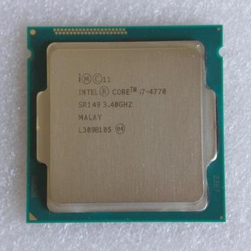 Intel Core i7-4770 - LGA1150 - od 3,40 do 3,90 GHz
