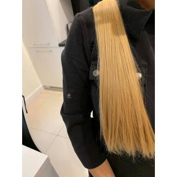 Włosy naturalne dziewicze 45cm 80g