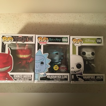 Funko Pop! zestaw 3 figurek Rick Daredevil Disney