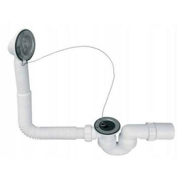 Syfon Wannowy McALPINE  HC30-EX z korkiem gumowym