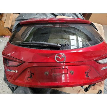 Klapa tył lampa szyba Mazda 3 od 13roku
