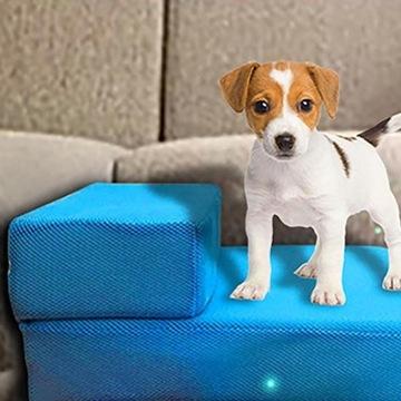 Folding Pet Ladder Removable Pet Bed Ladder Dog Ra