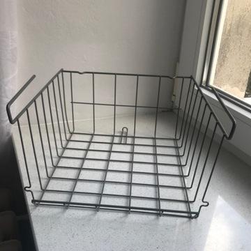 IKEA obserwator kosz z klipsem pod półkę półka