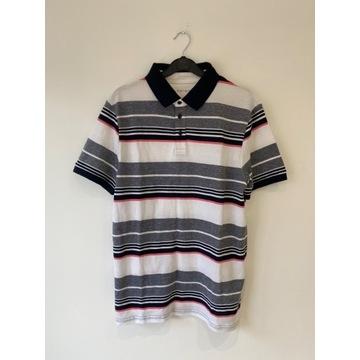 PRIMARK koszulka bluzka polo w paski L *NOWA*190