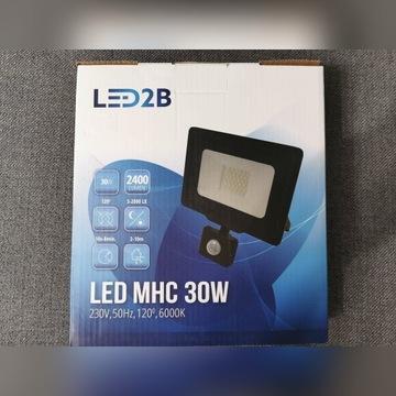 Halogen LED z czujnikiem MHC 30W 6000K