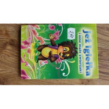 Książka dla dzieci  - bajka Jeż Igiełka