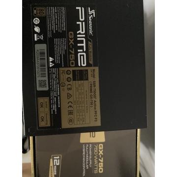 Zasilacz Seasonic PRIME GX-750 80Plus Gold 750W
