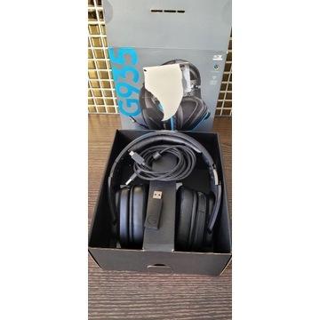 Słuchawki bezprzewodowe Logitech G935 jak nowe!