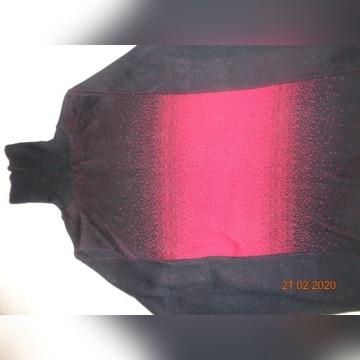 SWETER/GOLF 50% bawełny 50% akryl rozm. 36/38