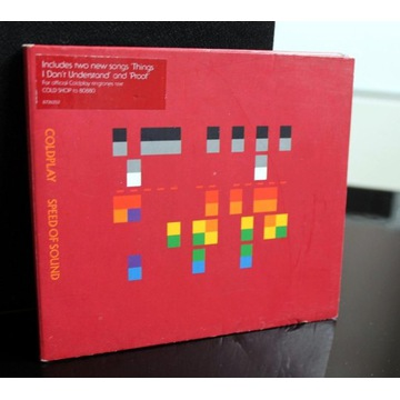 Coldplay / Speed Of Sound CD