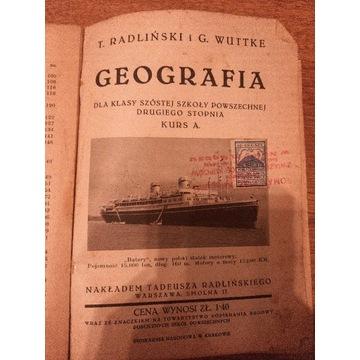 Geografia - G. Wuttke i T. Radliński