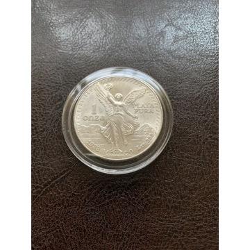 Moneta srebrna Libertad 1988r.