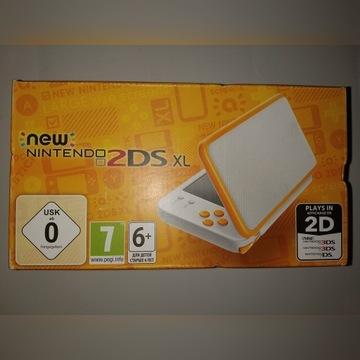 NEW Nintendo 2DS XL White Orange NOWA