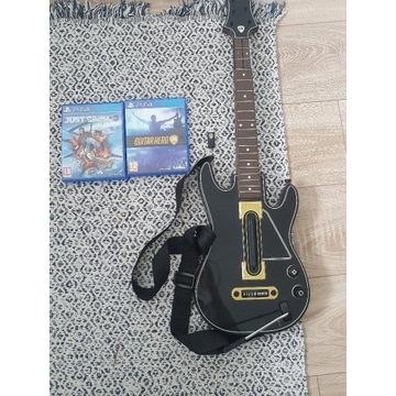 Guitar hero ps4 wraz z gitarą+gra just cause 3