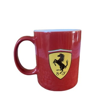 Kubek Ferrari Czerwony Oryginalny