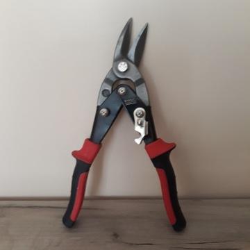 Nożyce do blachy wygięte Macallister